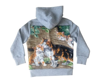 Kittens 5/6 years - Collection canvas kids Sweatshirt