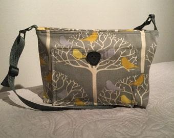 Bird fabric crossover