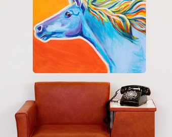 Horse Like The Wind Wall Decal - #59982