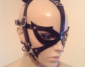 Vegan Feline Head Harness