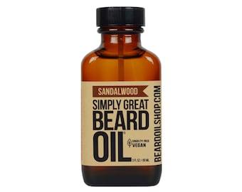 Beard Oil SANDALWOOD by Simply Great