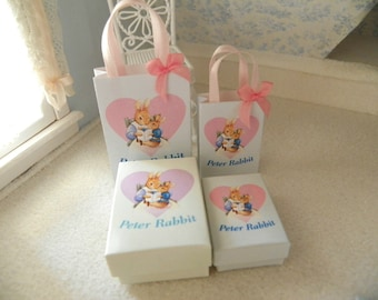 1/12 miniature gift boxes and bags set