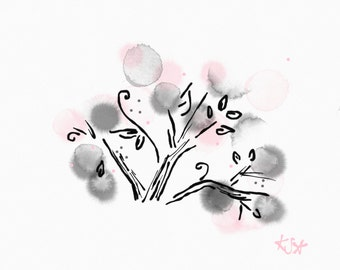 Blossom Dream Original Digital Art Download