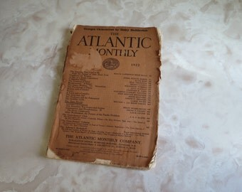 The Atlantic Monthly 1922