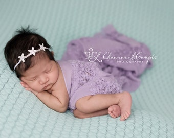 Lavender Rhinestone Starfish Headband, Starfish Headband, Beach Headband, Photo Prop, Rhinestone Headband, Lavender Headband