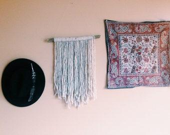 Handmade LIKE DREAMERS DO Cream & Speckled Wall Hanging