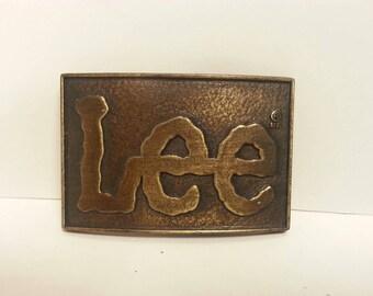 Free Shipping!! Lee Jeans Belt Buckle