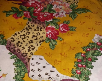 """2.8 yds Brunschwig and Fils fabric """"Out of Africa"""""""