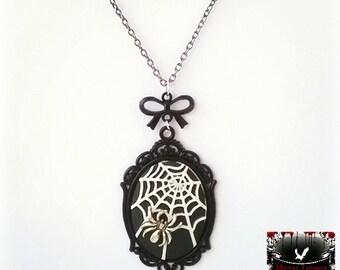Spider Web Necklace