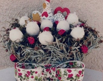 Easter Basket filled with Eggs