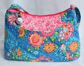 Women's Purse, Designer Women's Handbag, Date Night Purse, Shoulder Purse, Zippered Purse