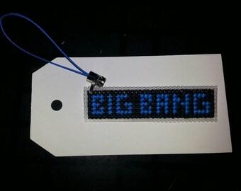 Big Bang Kpop cell charm/ zipper pull