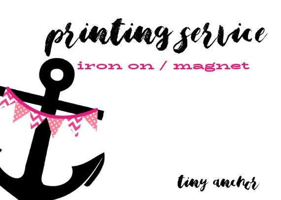 Il_570xn  sc 1 st  Catch My Party & Add To Order Printing Fee | 1 Printed Sheet | Iron On Transfer or ...