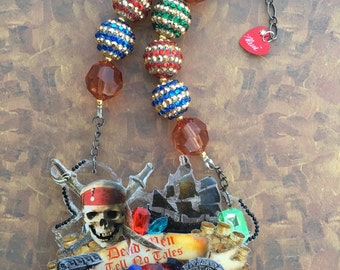 Pirate 'Expression Piece' Necklace