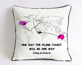 long distance girlfriend gift-xmas gift for wife-cute gift for boyfriend -world