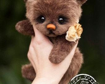 Bear Caramel ,Teddy Bear Stuffed Animal Bear Soft Toys Artist Teddy Bears
