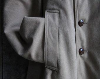 Vintage Silver Cloud Classic Mens' Camel Coat, Size 38 Mens Coat, Winter Clothing, Overcoat, Traditional Coat, Dress Coat, Car Coat, Lined,