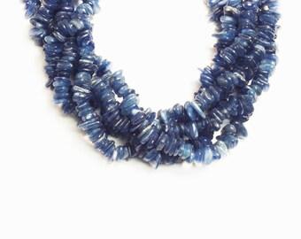 "Kyanite Chips Shape Beads 7mm 16""L"