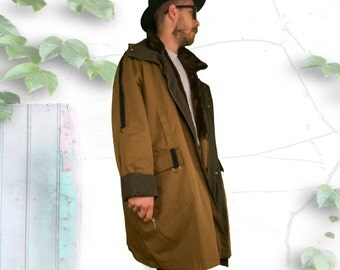 Baggy Fur Lined Designer Winter Trench Coat