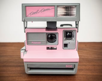 TESTED Pink Polaroid Camera, Pink Cool Cam Camera, Pink Polaroid Camera, Pink Instant Camera, Working Polaroid, Polaroid Pink Camera