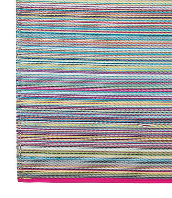Fab Habitat Indoor/Outdoor Rug Cancun Candy 4' X 6' By