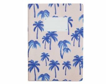 Cahier imprimé Palmiers