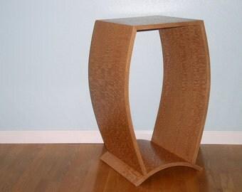 Lacewood Pedestal Table