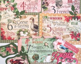Graphic45 Twelve Days of Christmas Card Kit