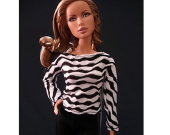 Dolls tops for Fashion royalty,,Silkstone,All barbie doll- No.1128-04