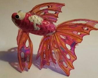 Elegant Goldfish, Koi,