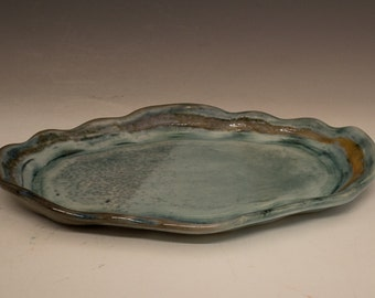 Scalloped Edge Platter