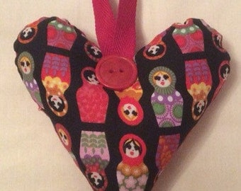Russian Dolls Hanging Heart