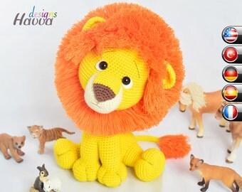 PATTERN - Lion Amigurumi