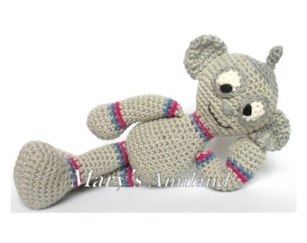 H-4WI Robot The Ami - Amigurumi Crochet Pattern / schema uncinetto - Digital Download