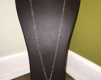 Long chain with elephant pendant