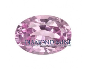 A Beautiful NaturalSapphire 1 Pink Oval Extra