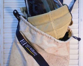 Firefighter Mask Bag, SCBA Mask Bag, Bunker Gear Mask Sack, Fireman Mask Pouch, Firefighter Gift