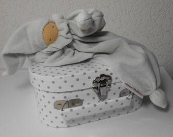 waldorf doll, Waldorf pop, waldorf dolls,  cuddly doll incl. suitcase