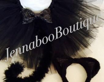 Cat costume, black cat costume,adult cat costume, baby cat costume, halloween cat costume, black cat tutu, cosplay cat, girl cat costume