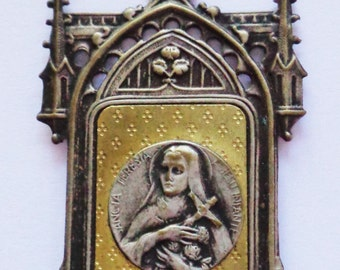 Old Religious Frame St. Theresa