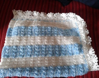 Hand made baby blanket to order