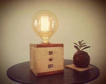 Edison Box table lamp