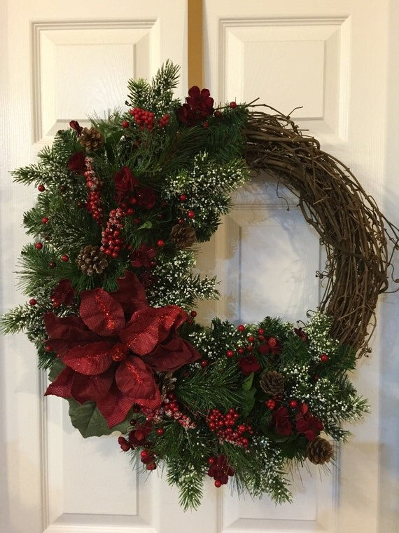Winter Wreathafter Christmas Wreath By Pastnpresentsbyalana