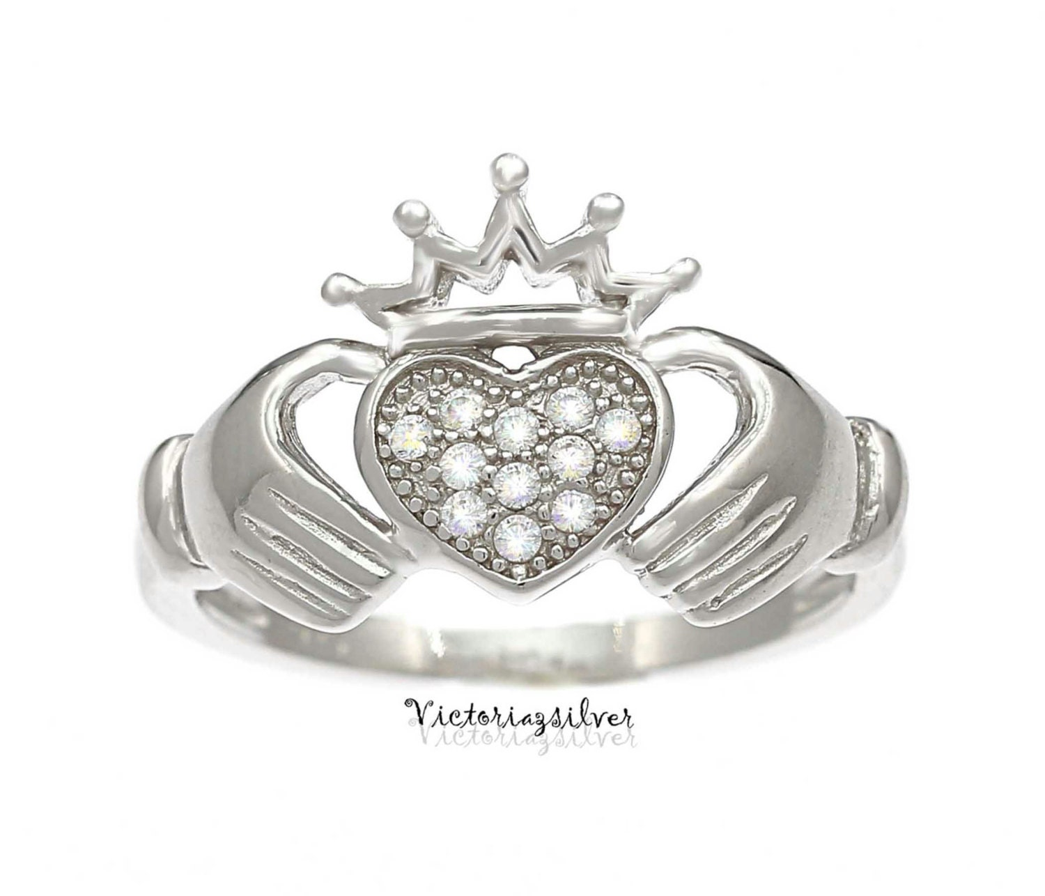 925 sterling silver claddagh ringsilver claddagh jewelry. Black Bedroom Furniture Sets. Home Design Ideas