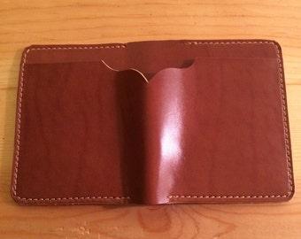 Handmade Mens Leather Wallet.