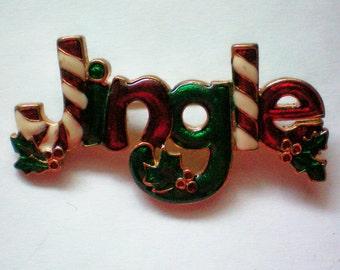 """Holiday """"Jingle"""" Pin for Christmas - 4245"""