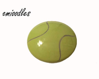 Custom Hand Painted Tennis Sport Drawer Pulls Knobs