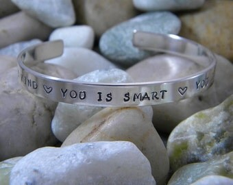 You is kind, You is smart, You is important Bracelet