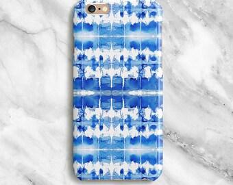 Blue iPhone 6s Case Cute iPhone 7 Case iPhone 6s Plus Case iPhone 5s Case iPhone SE Case iPhone 5c Case Galaxy S7 S6 S5 Case Edge 090