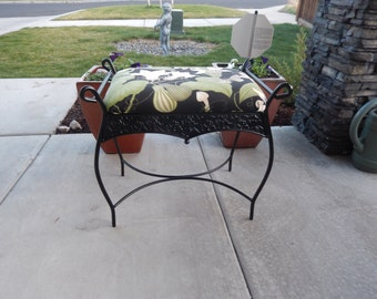 GARDEN BENCH with Sunbrella Fabric
